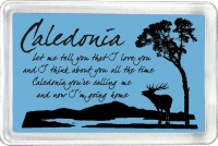 Caledonia Fridge Magnet